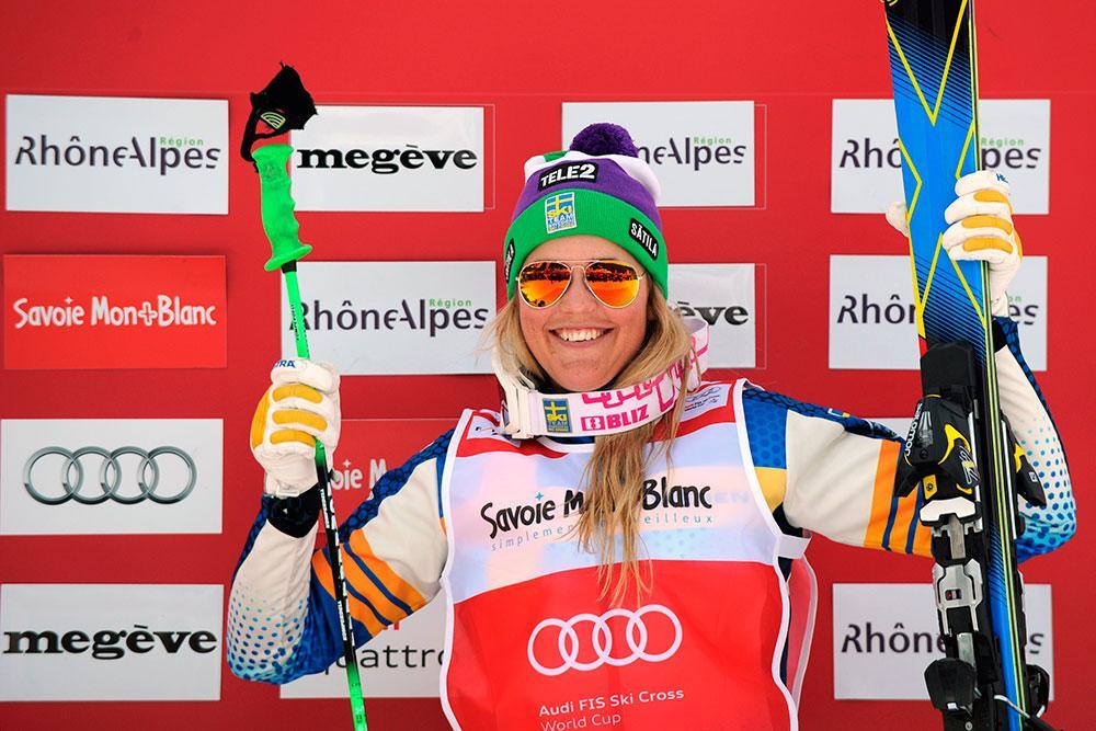 Holmlund vann igår – och tvåa i dag.