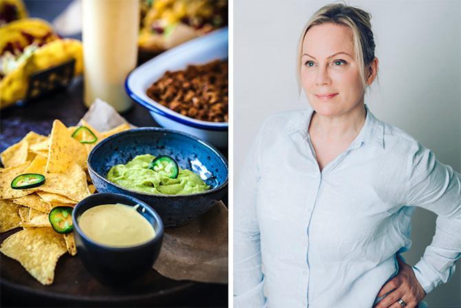 Vegetariskt fredagsmys? – Barn äter det du äter, så om du gör gröna inslag till en naturlig del av måltiden, så kommer barnen att vänja sig vid de smakerna, säger Tina Mejri.