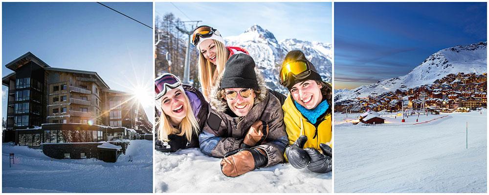Copperhill Mountain Lodge är utsett till Sveriges bästa skidhotell. Val Thorens är världens bästa skidort.