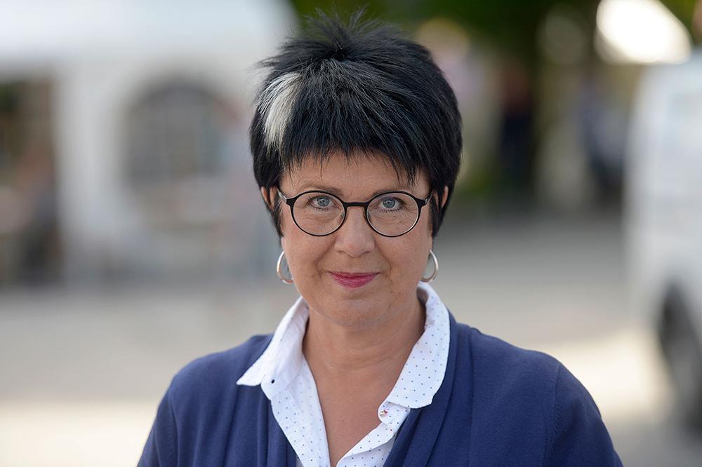 Eva-Lis Sirén, Lärarförbundets ordförande.
