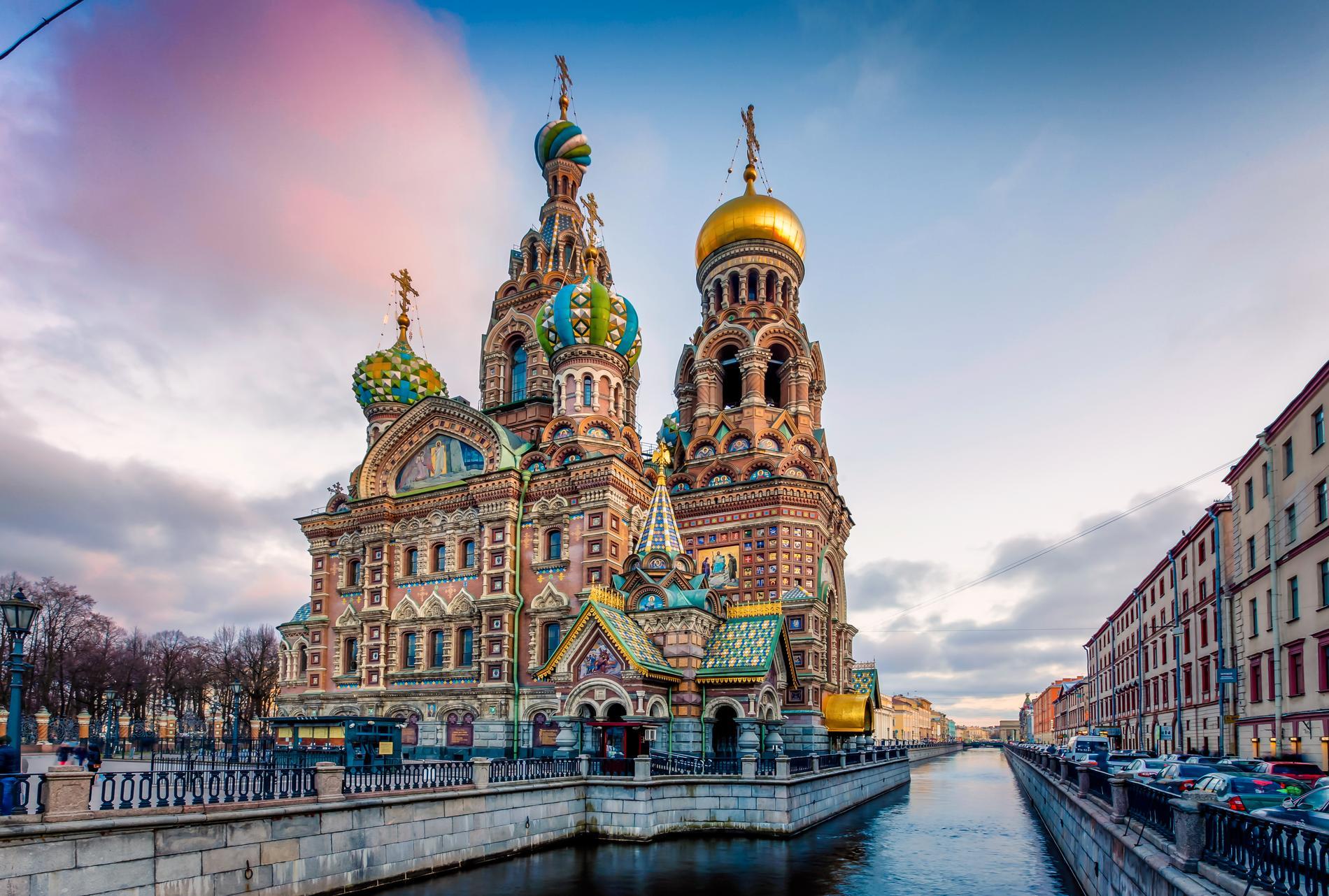 Uppståndelsekyrkan byggdes till minne av Alexander II.