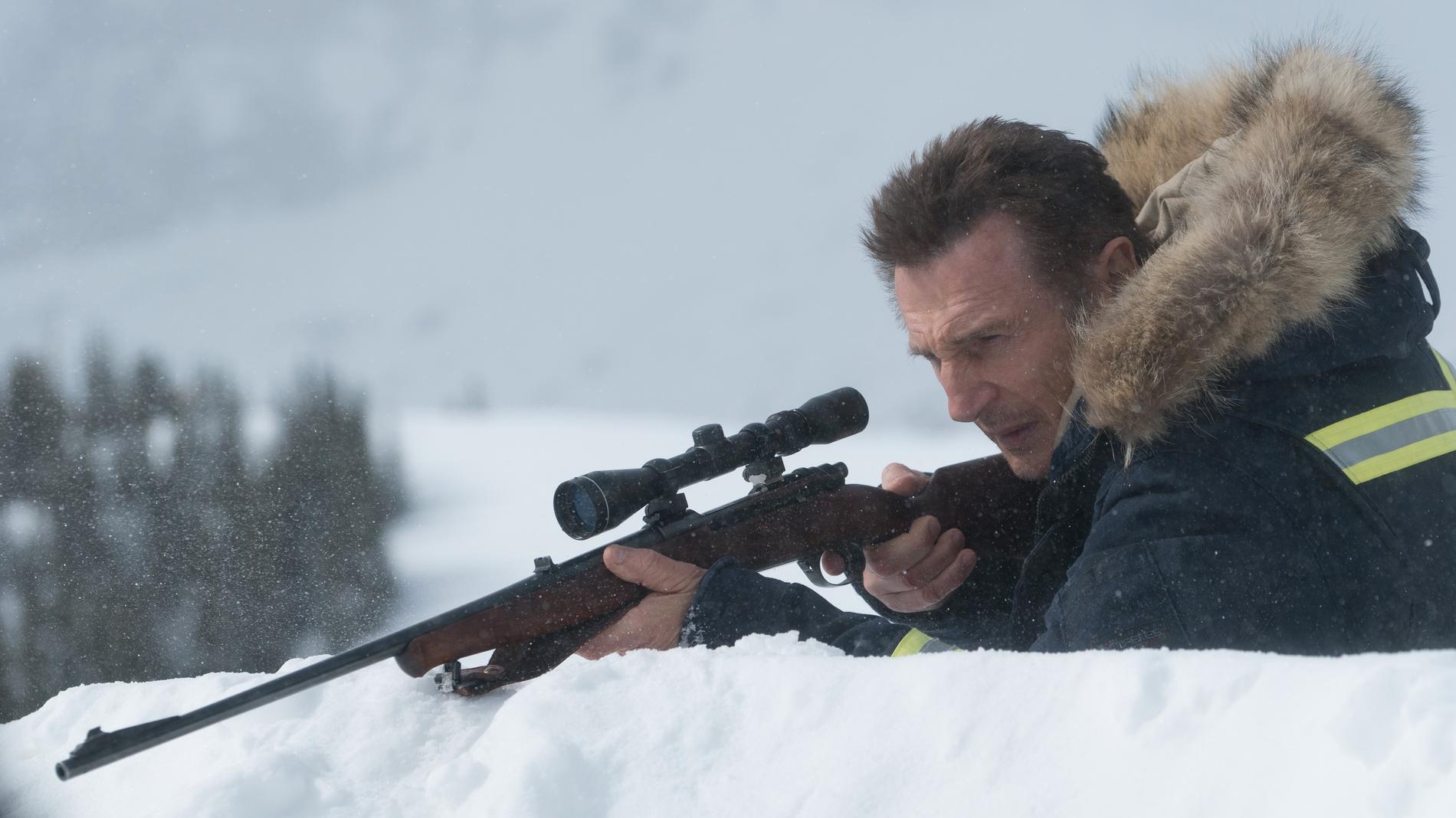Liam Neeson som brutal hämnare.