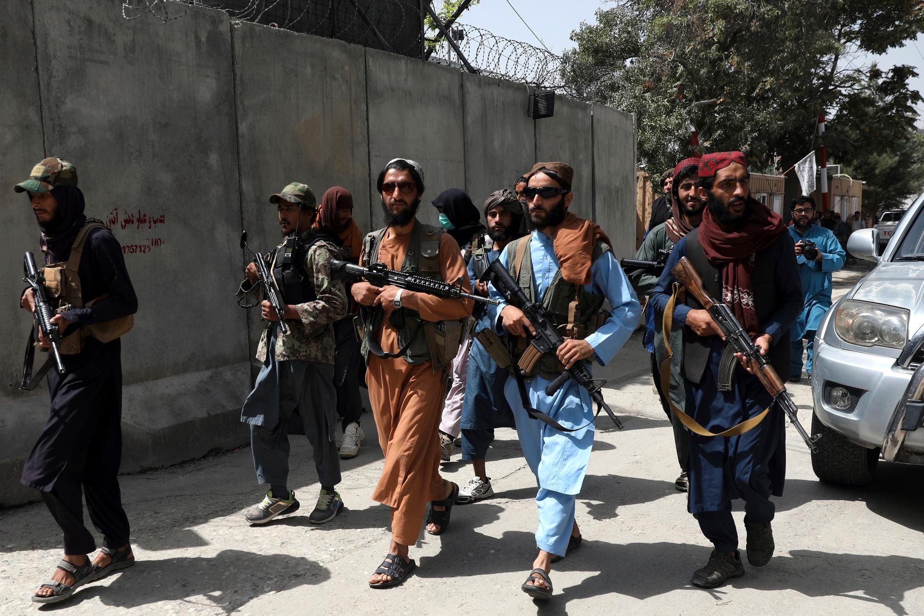När talibanerna tog över Kabul fick kvinnor höra att det var deras sista dag ute på gatorna. Bilden är från Kabul den 18 augusti.