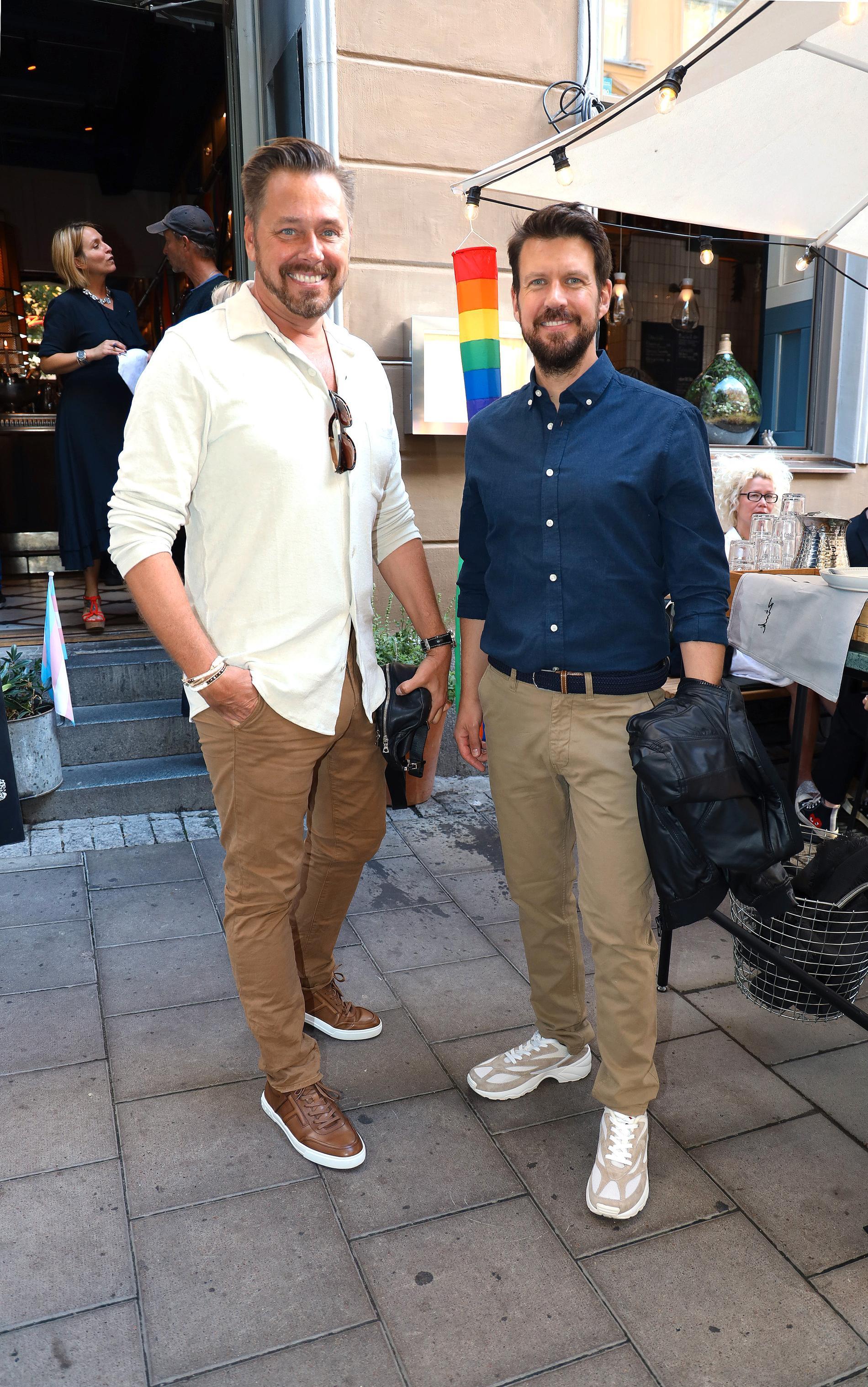 Mika Liias, grundare av Make Up Store med Andreas Rhann.