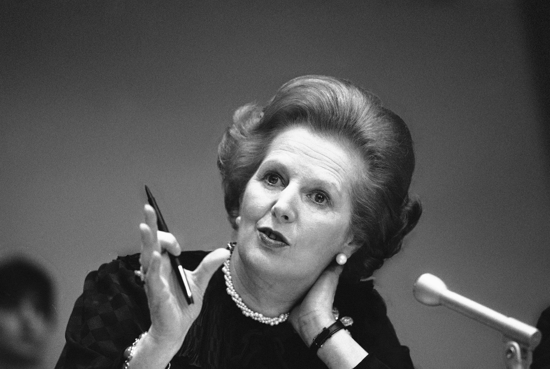 Thatcher - mer grön än dagens höger?