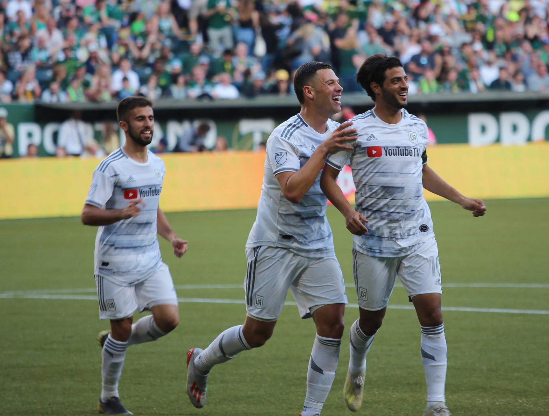 LA FC:s Carlos Vela, längst till höger.