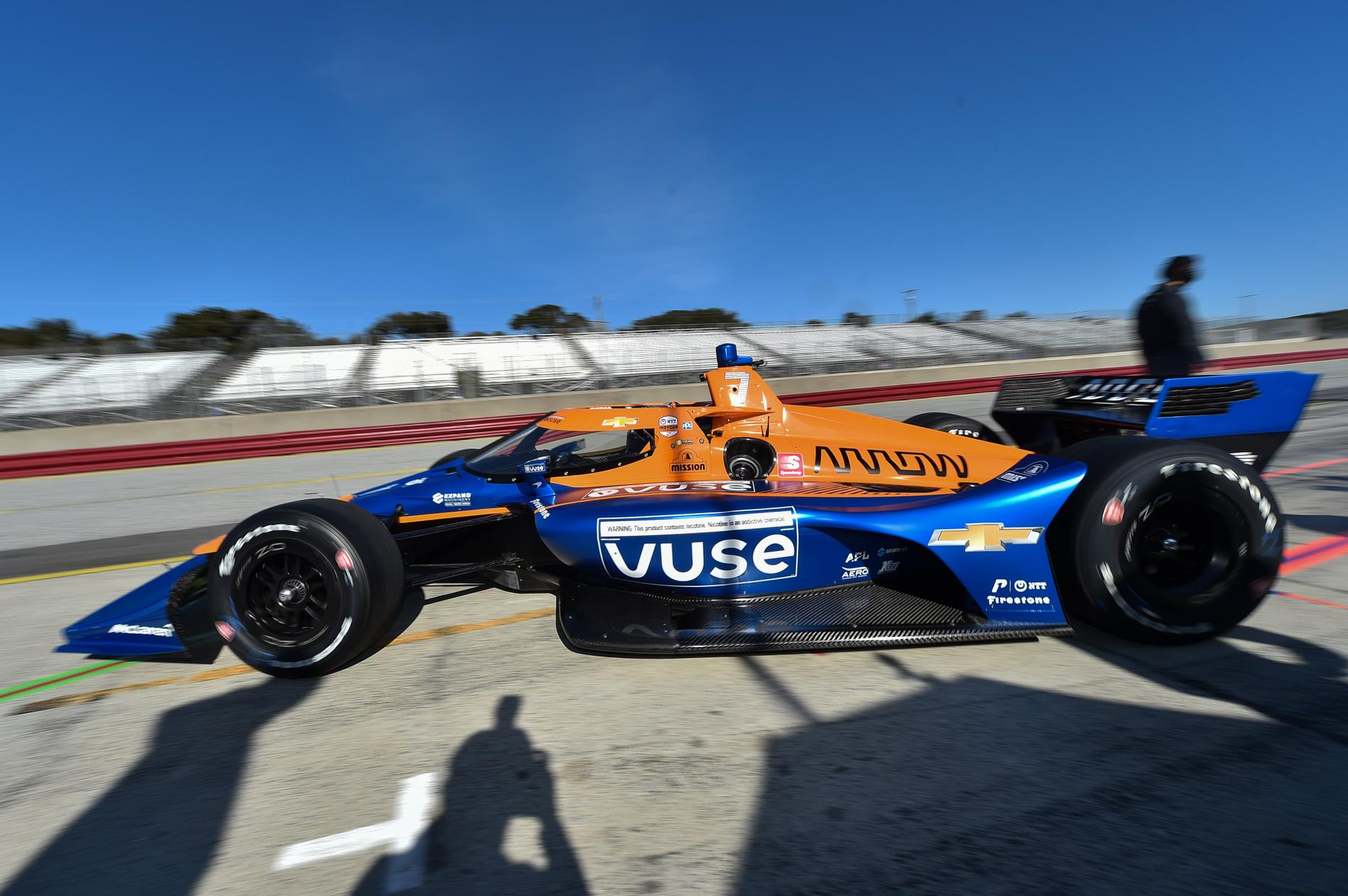 Felix Rosenqvist lämnar Chip Ganassi Racing för Arrow McLaren SP 2021