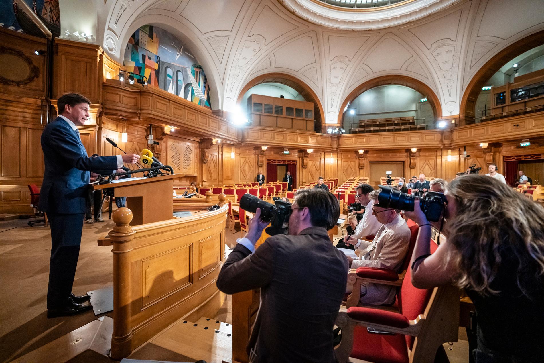 Vem vet om riksdagens talman Andreas Norlén blir sysselsatt igen under mandatperioden med att hitta en statsminister?