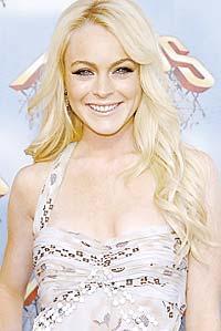 """Lindsay Lohan vann pris för """"Bästa kvinnliga prestation""""."""