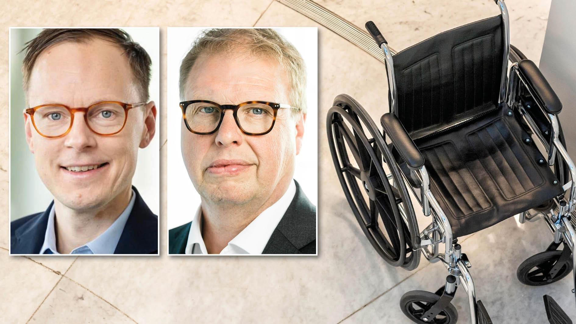 Att funktionsnedsatta i behov av stöd har möjlighet att komma till Sverige och få hjälp kan verka humant. Men socialpolitik är inte biståndspolitik. Vi vill införa en ny regel där assistans till nyanlända enbart utförs av kommunen. Då kan vi stoppa brukarimporten, skriver Mats Persson och Bengt Eliasson.