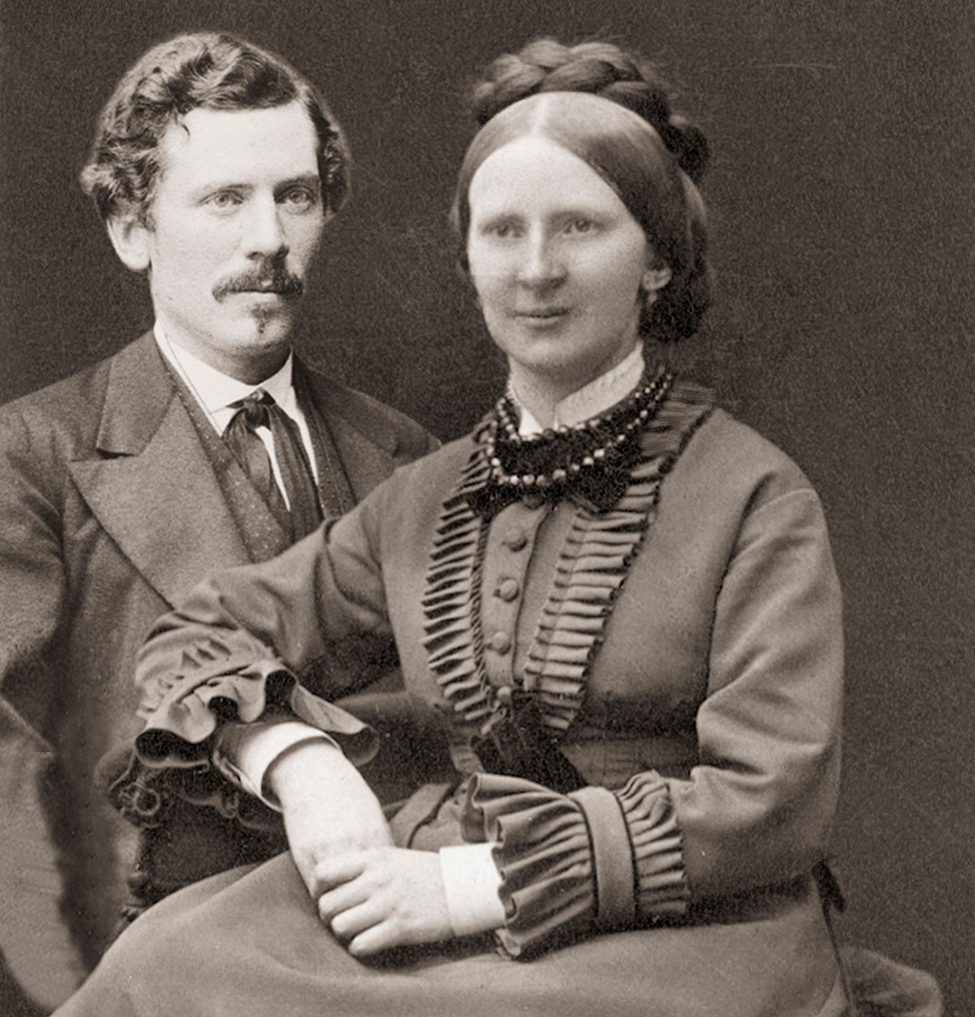 Gustaf och Anna Retzius.