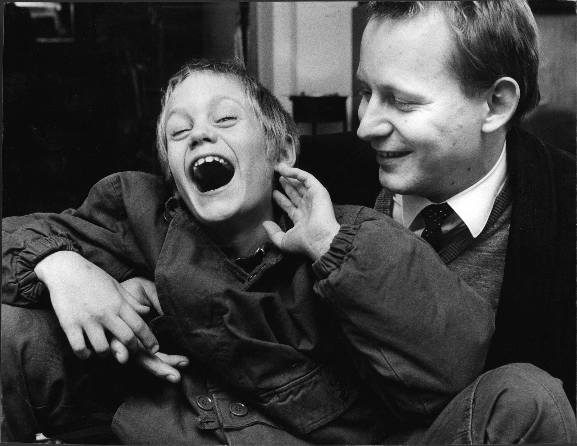 Stellan Skarsgård med sonen Alexander.