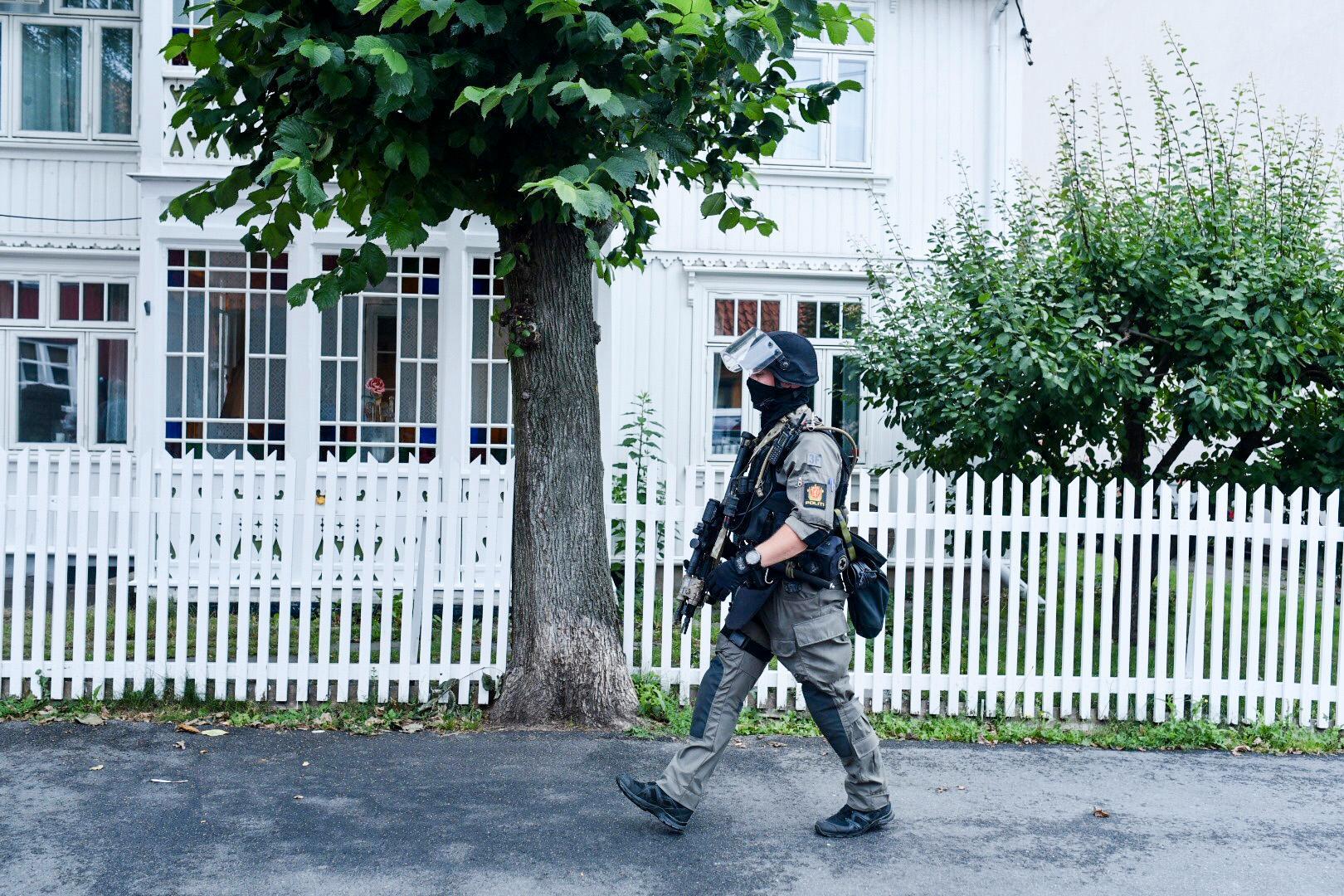 Stort polispådrag i Oslo efter att två skjutningar ägt rum under morgonen.