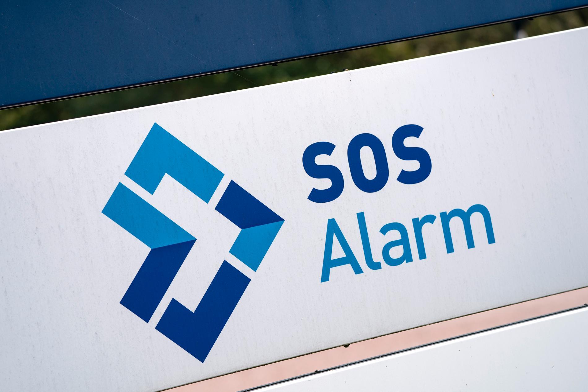 SOS ska man kontakta vid akuta nödsituationer. Arkivbild.