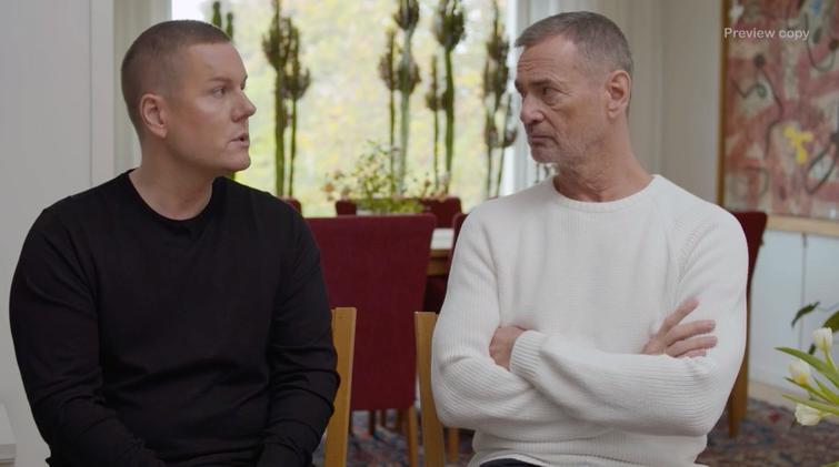 """Martin Kagemark och Christer Björkman pratar om operationen i """"Tillsammans med Strömstedts""""."""