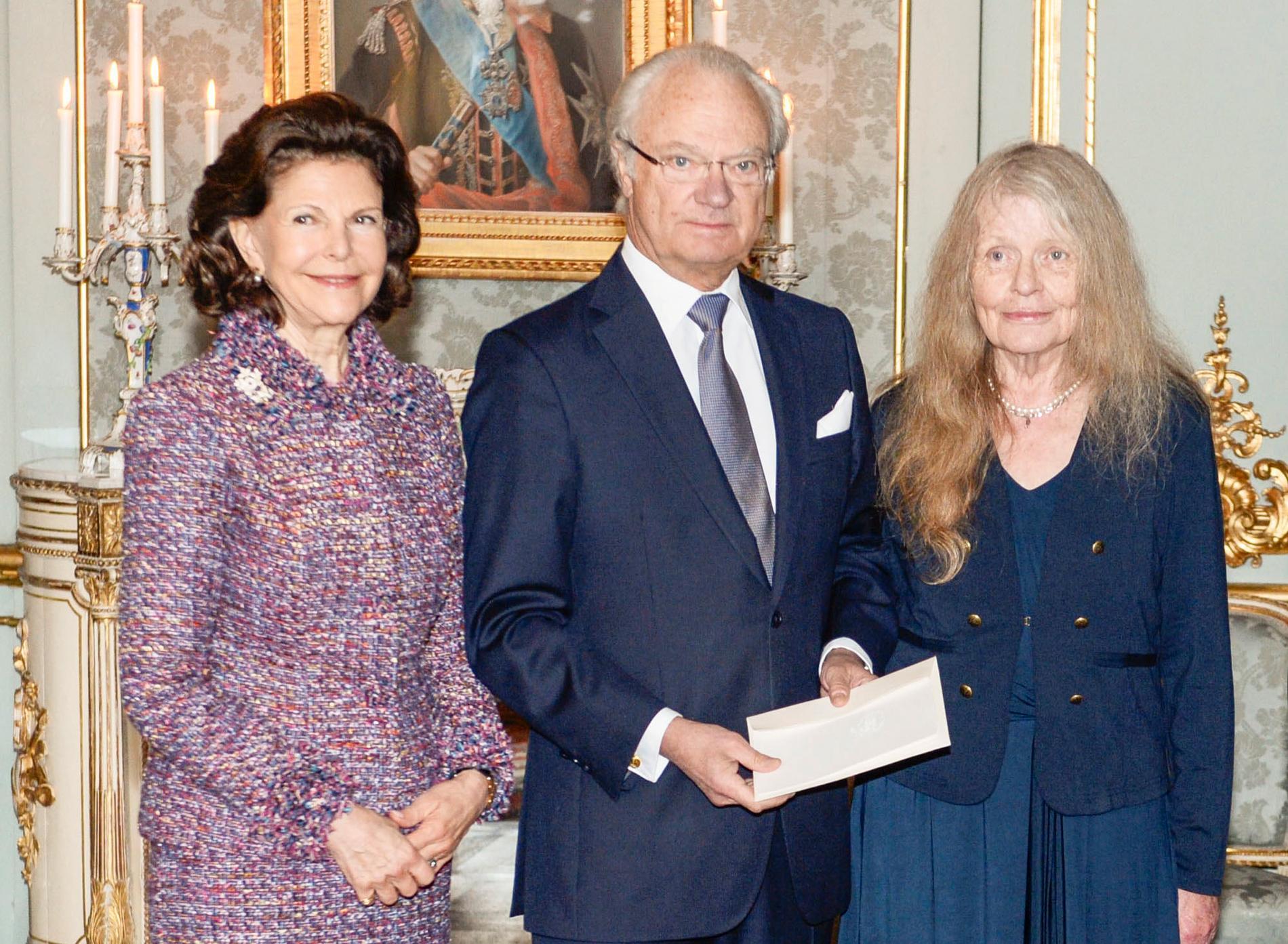 Drottningen, kungen och Kristina Lugn.