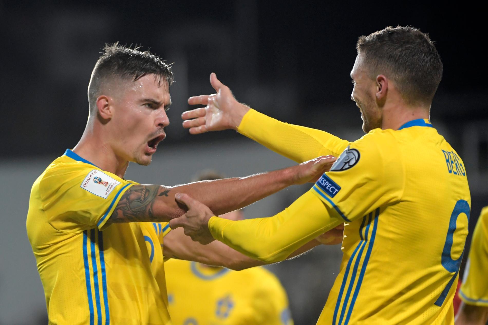 Vitryssland-Sverige i VM-kvalet spelas 3 september
