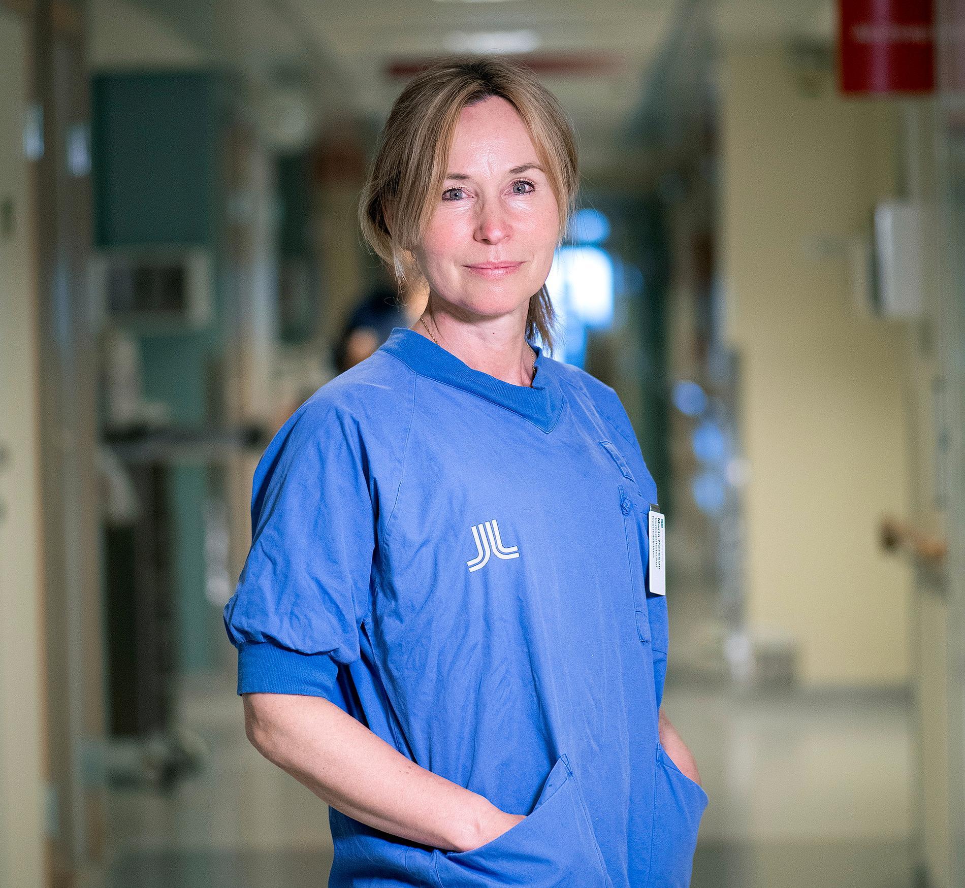 Maria Persson, verksamhetschef på kvinnosjukvård och förlossning på Danderyds sjukhus.