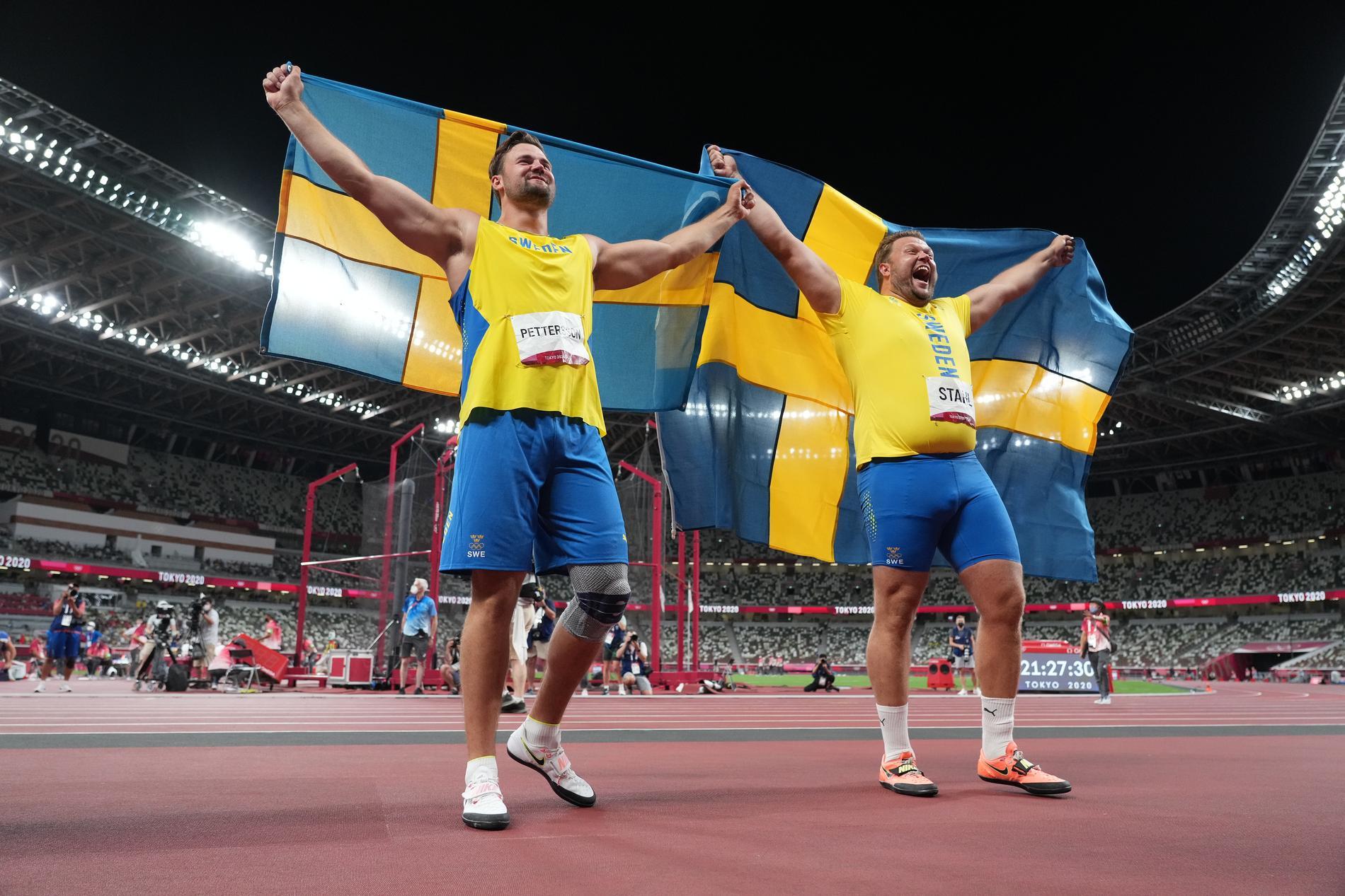 Simon Pettersson och Daniel Ståhl