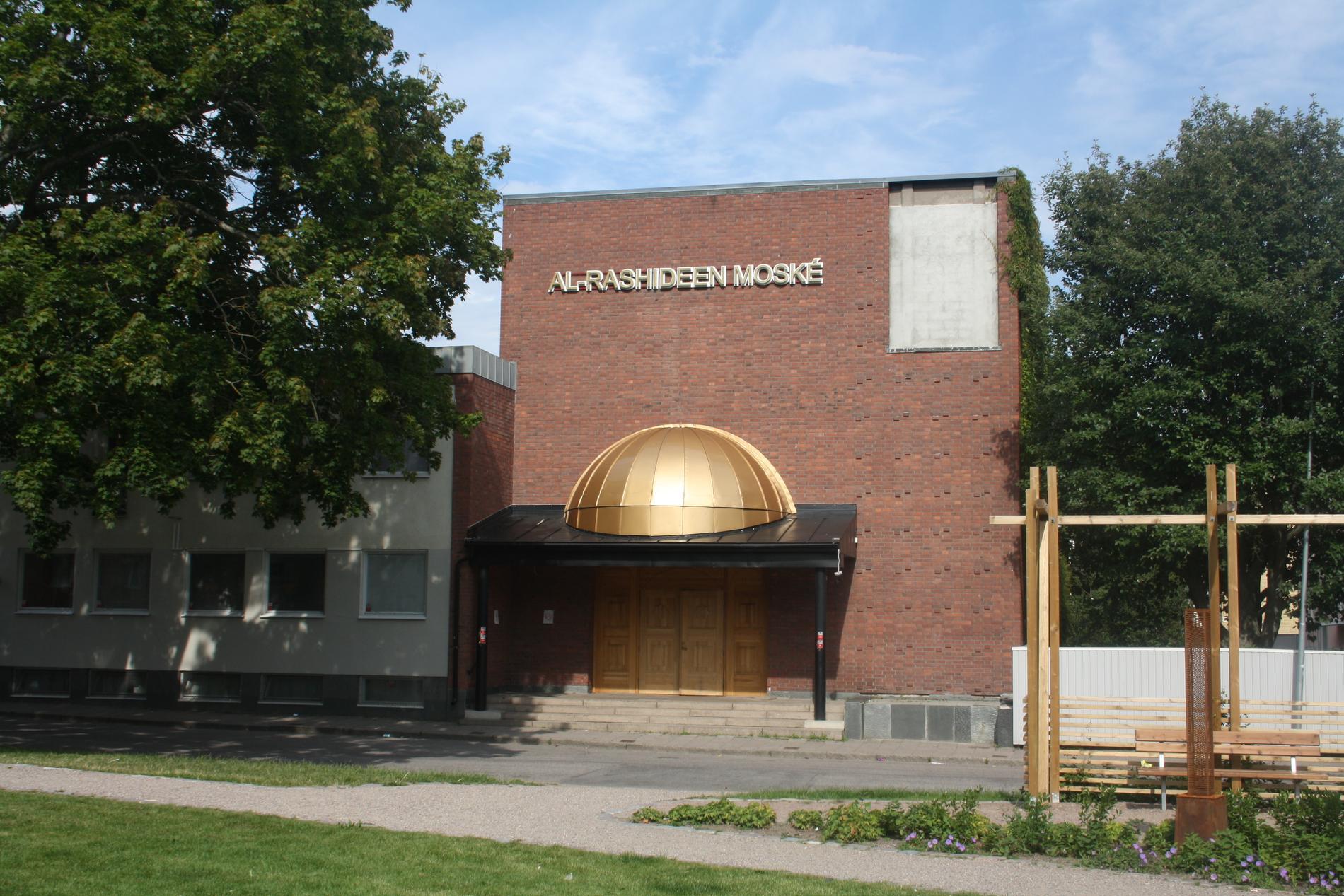 Al-Rashideen-moskén i Gävle ligger i stans gamla Metodistkyrka.