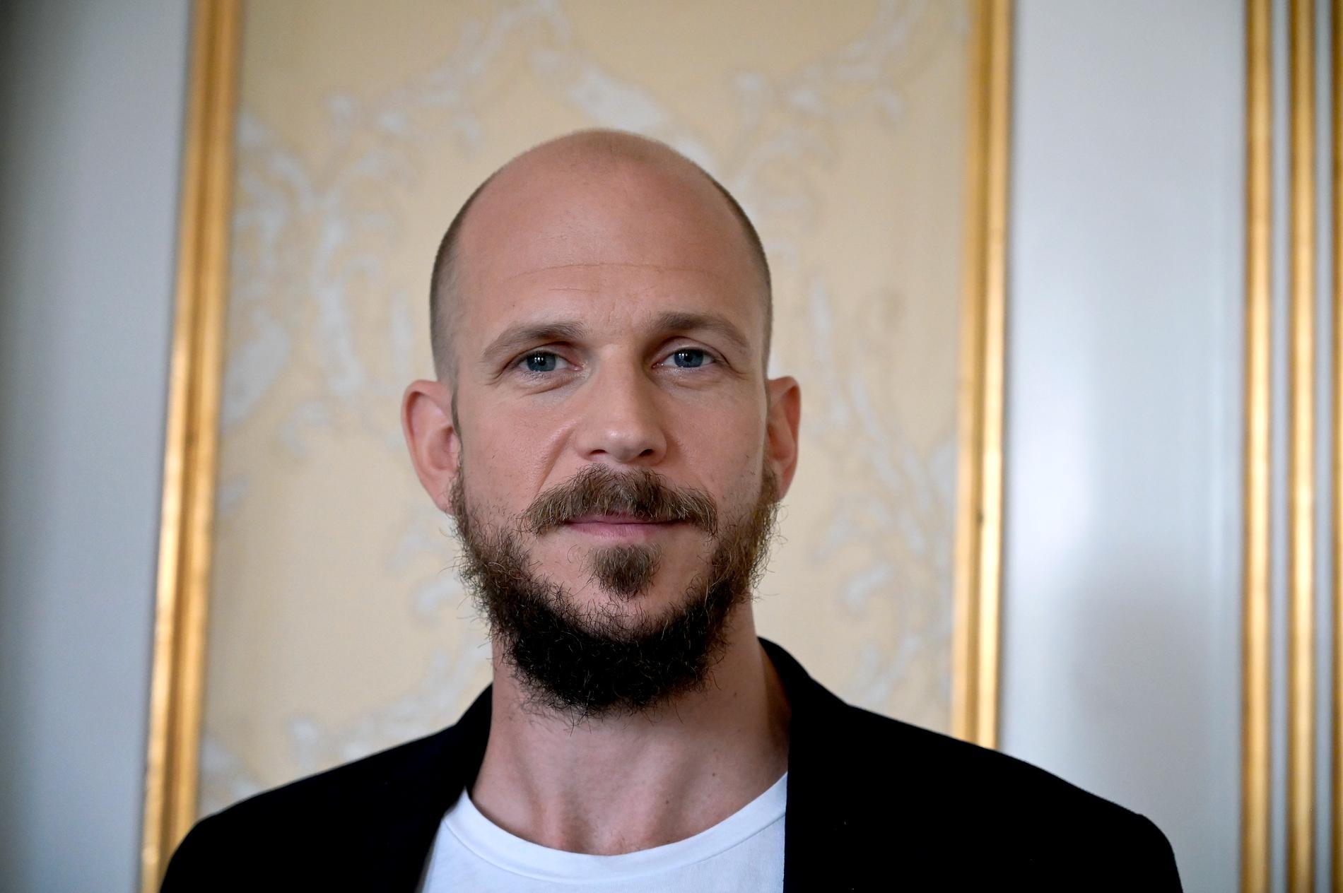 """Gustaf Skarsgård är en av skådespelarna i Netflix-serien """"Cursed"""" som inte spelar in en andra säsong. Arkivbild."""