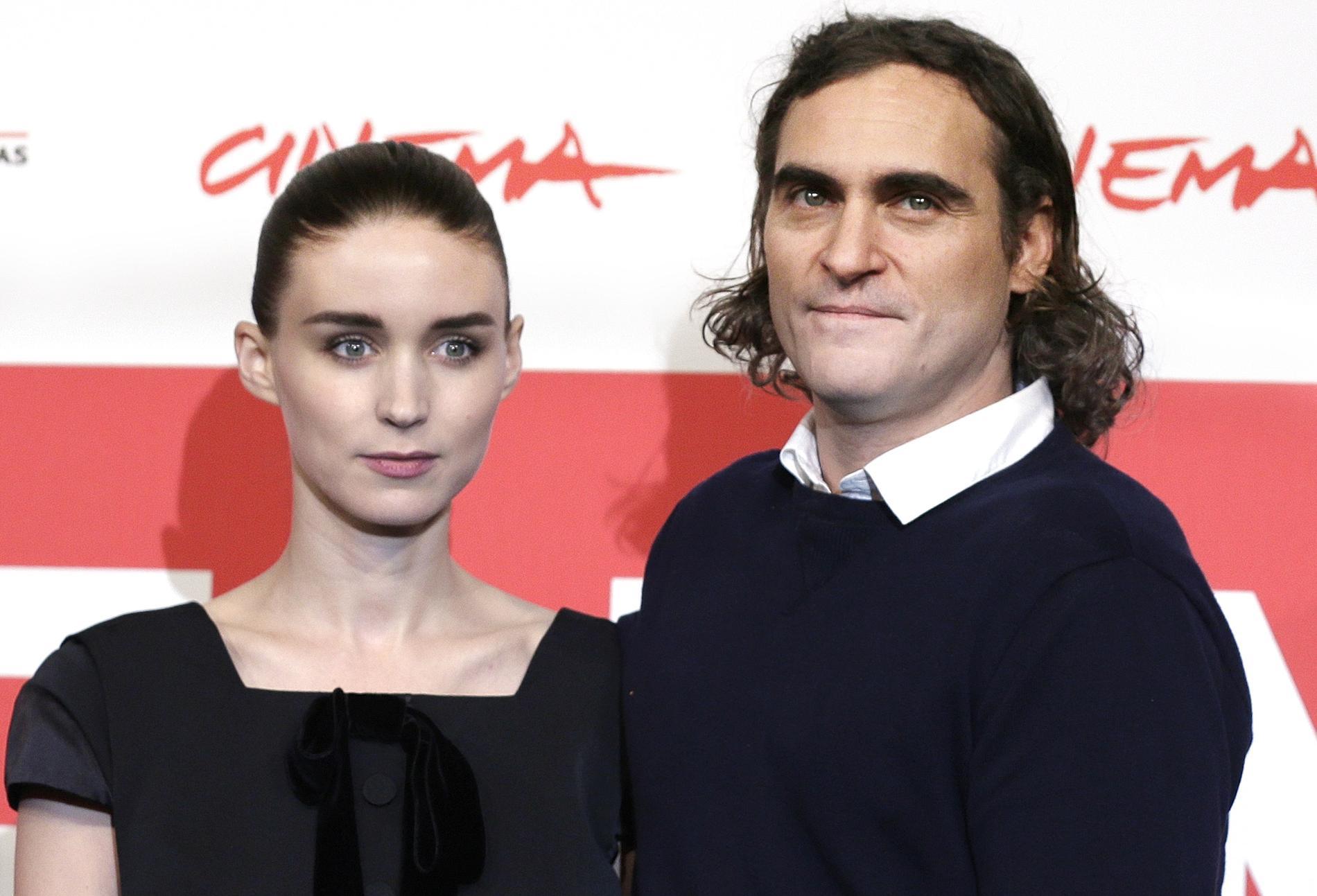 Rooney Mara och Joaquin Phoenix har fått en son.