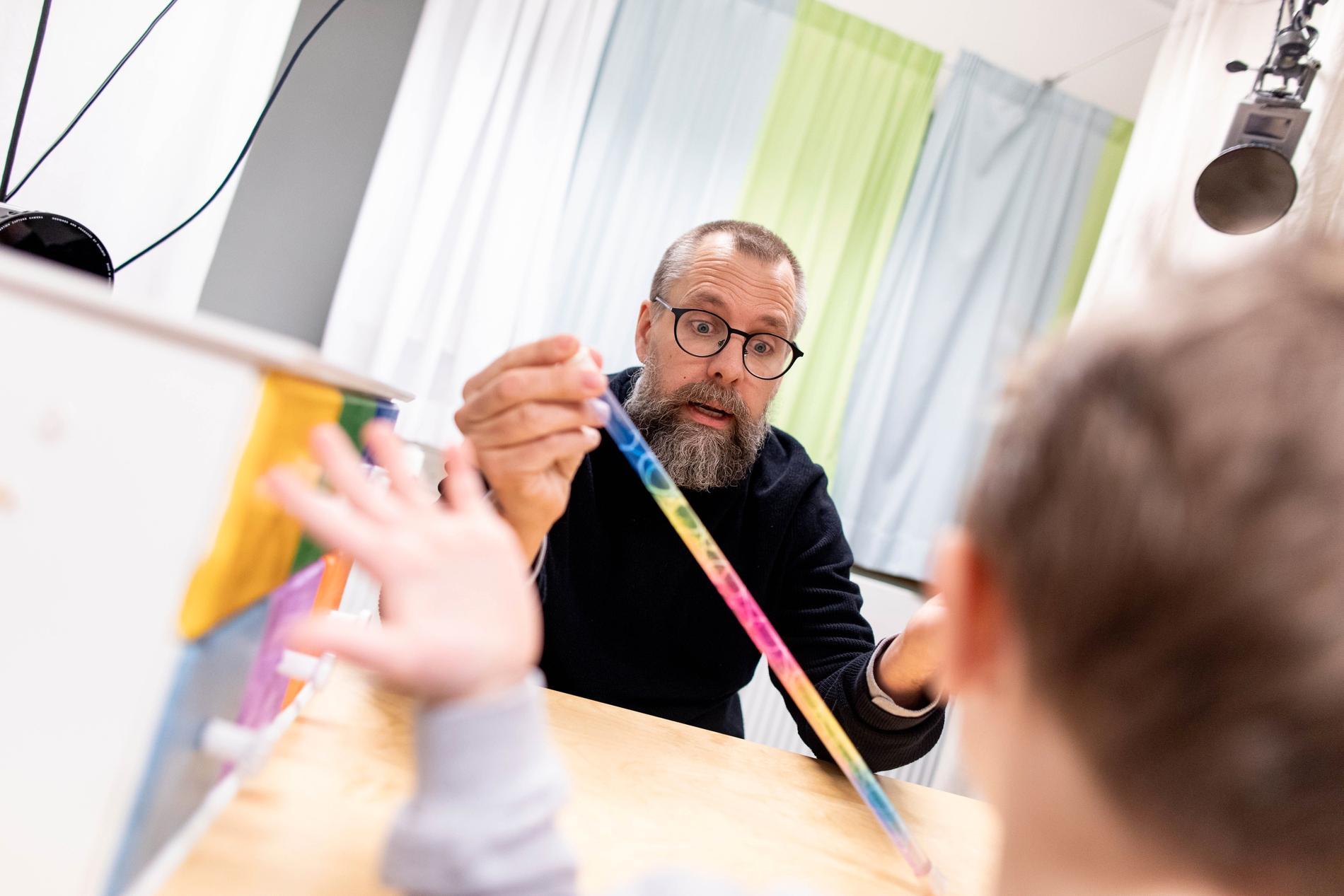 Gustaf Gredebäck, professor i utvecklingspsykologi.