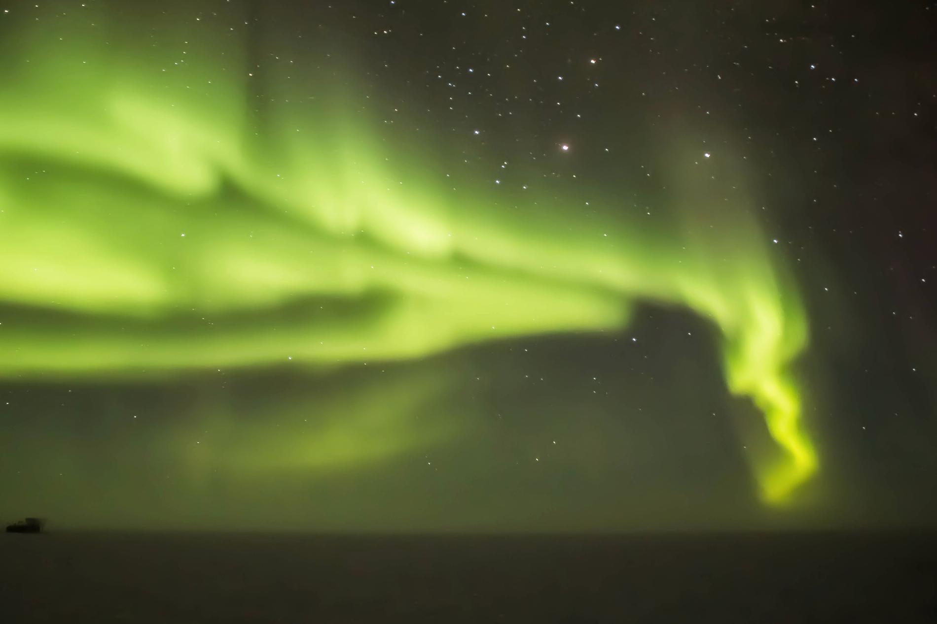 Såhär kan det se ut över sydpolen.