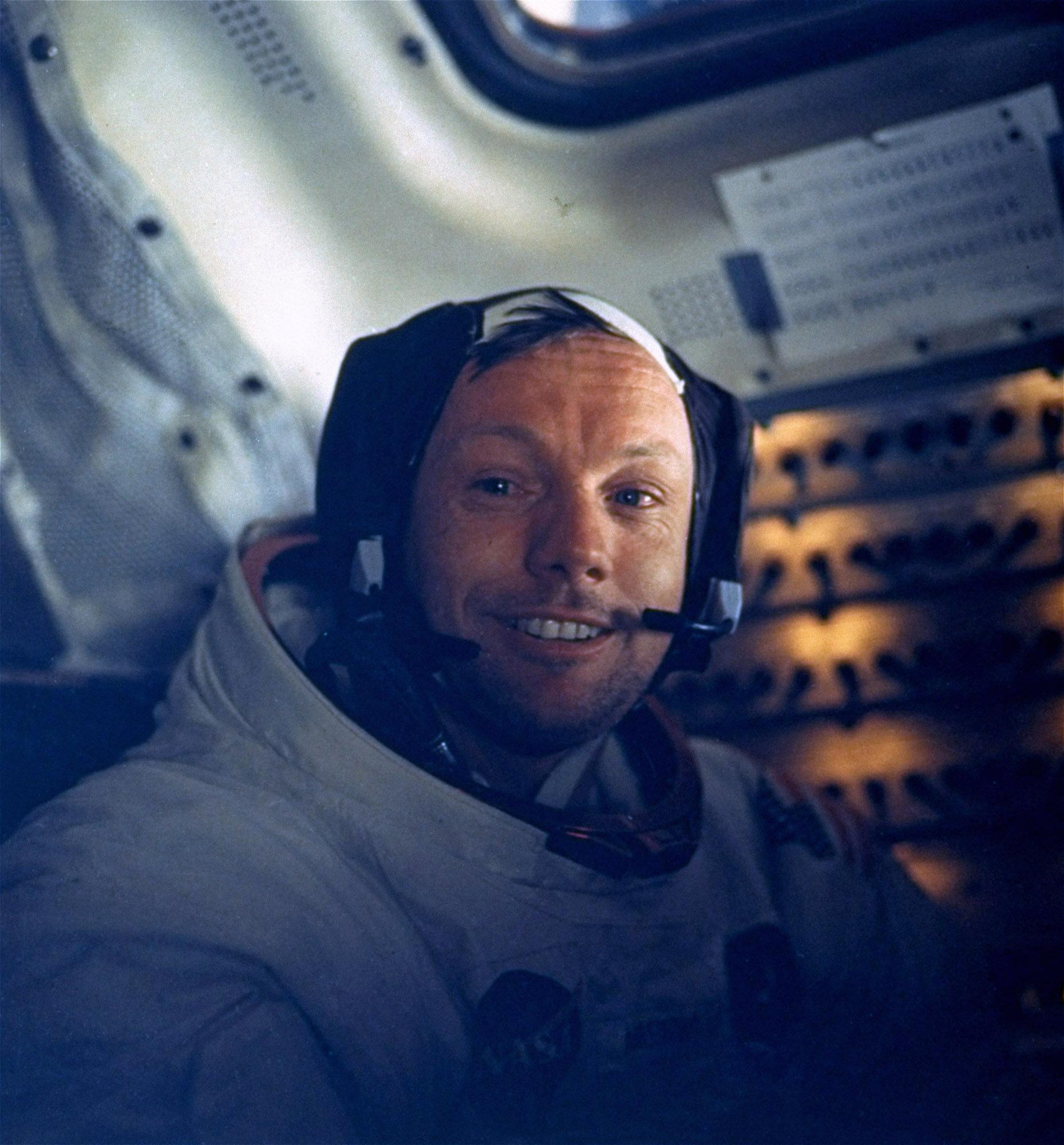 I år är det 50 år sedan Neil Armstrong klev ut på månens yta.