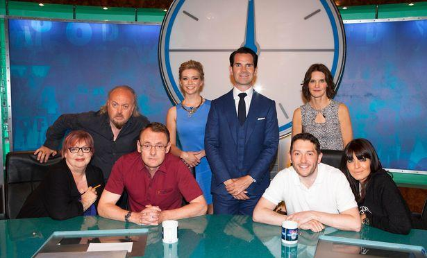 """Sean Lock i crossovern av """"8 out of 10 cats"""" – """"8 out of 10 cats does countdown""""."""