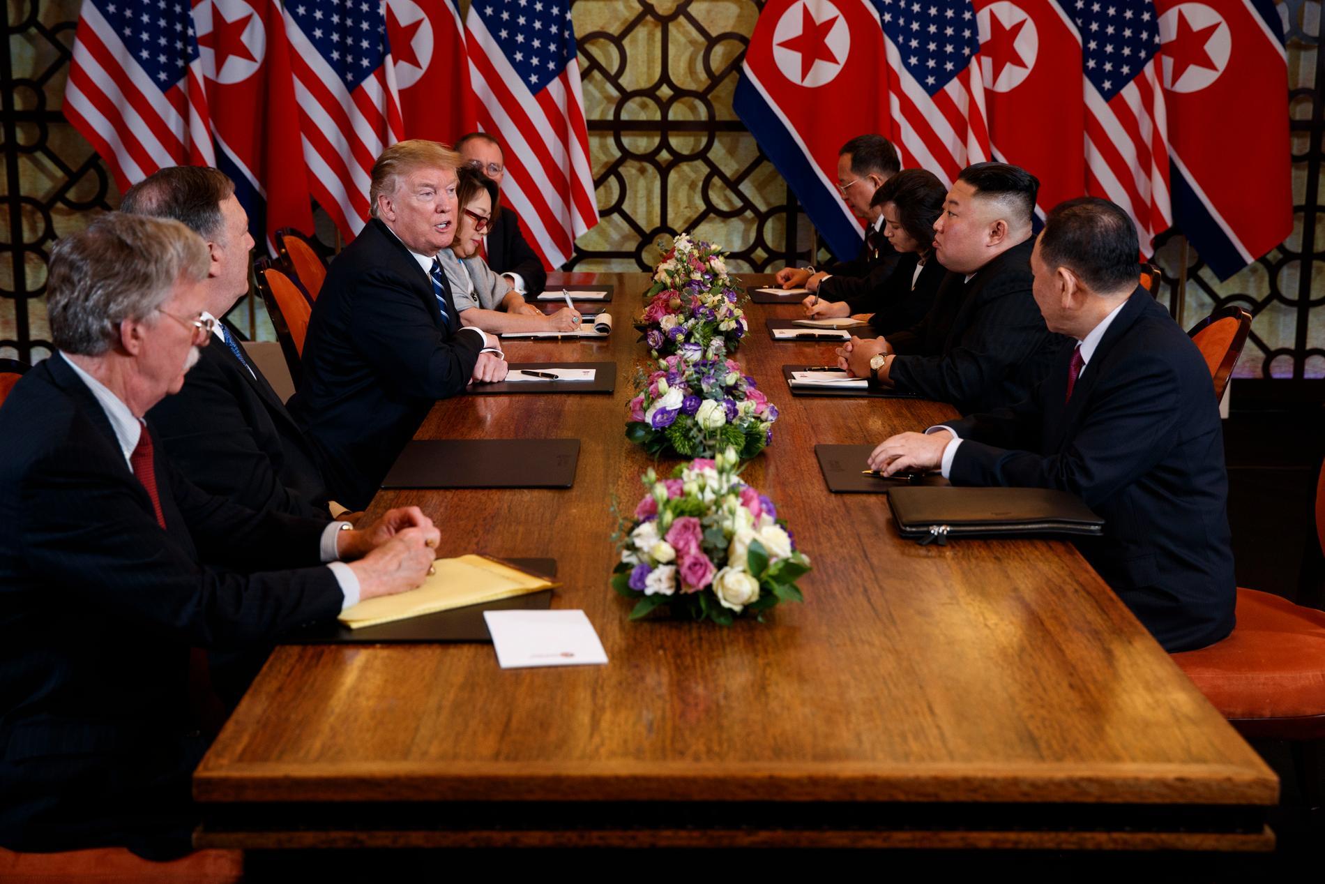 USA:s Donald Trump och Nordkoreas Kim Jong-Un möts i Vietnams huvudstad Hanoi.
