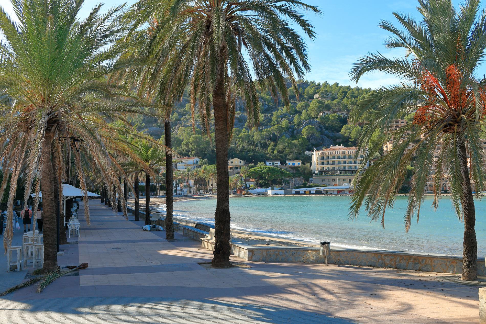 I Palma är det lugnare under lågsäsongen.