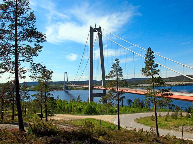 Höga kusten-bron.