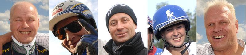 Timo Nurmos, Jorma Kontio, Peter Untersteiner, Gabriella Laestander och Frank Andersson.