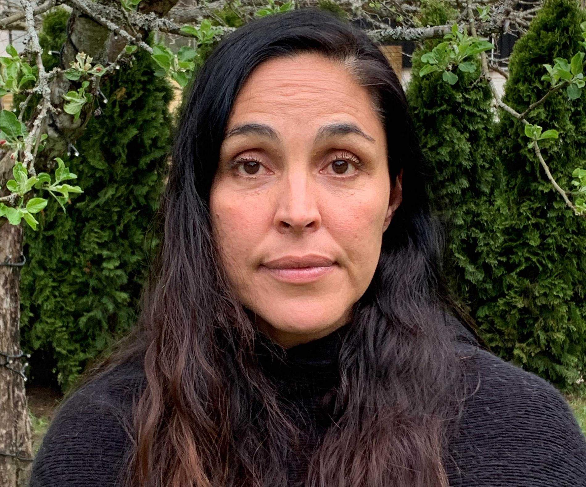 Begoña Birath–Barrientos, programspecialist för humanitärt stöd för Palestina på Sida.