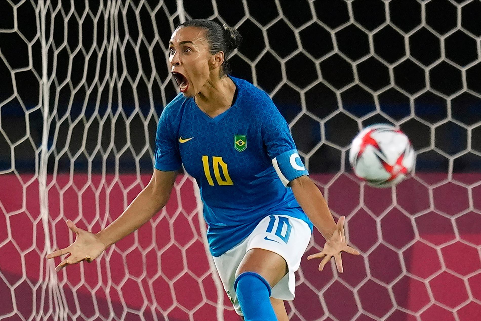 Brasiliens Marta.