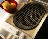 grilla året runt Snygg grill för inomhusbruk.