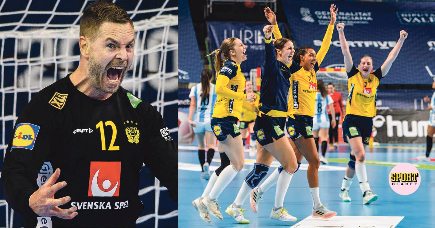 Sverige är med i både dam- och herrturneringen i handboll i OS 2021.