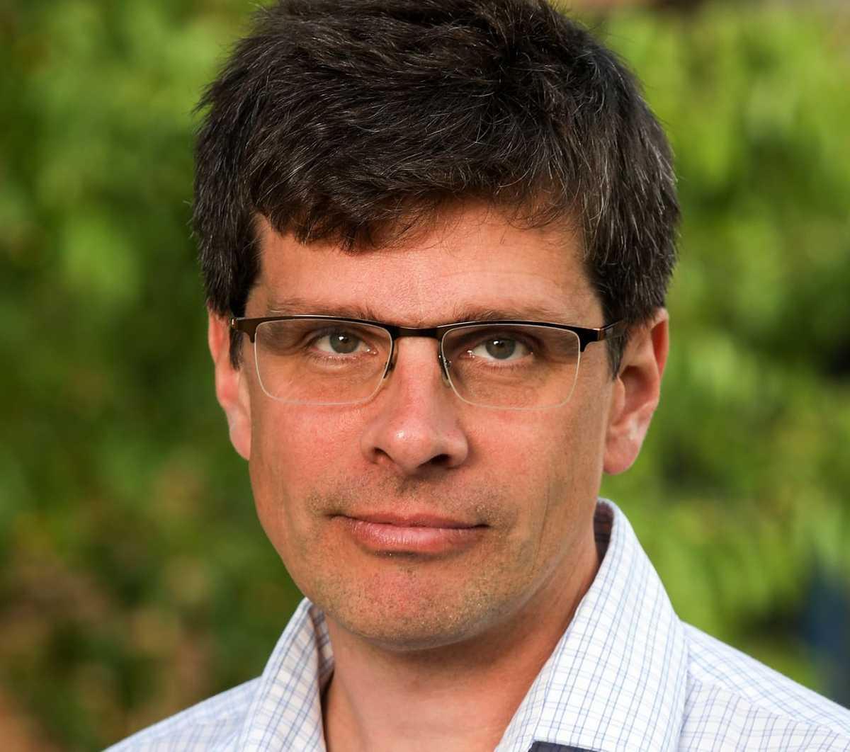Erik Kjellström, professor i klimatologi på SMHI.