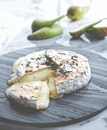 Magisk ostbricka: brie chaud!