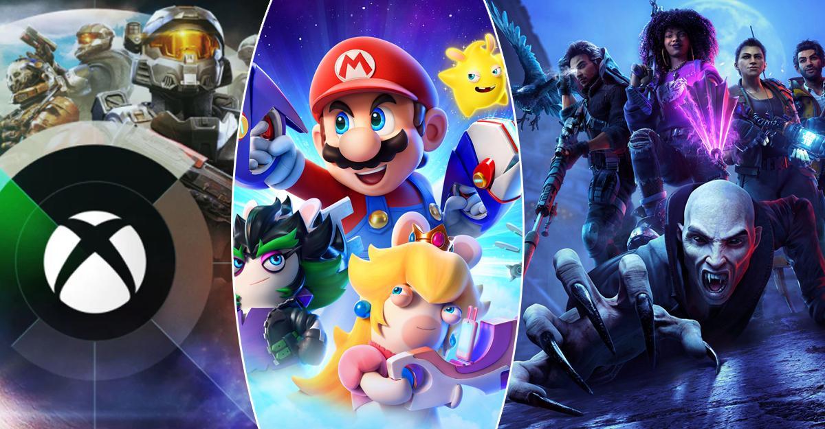 """""""Halo Infinite"""", """"Mario + Rabbids Sparks of Hope"""" och """"Redfall"""" är bara några av de spel som presenterats senaste dagarna."""