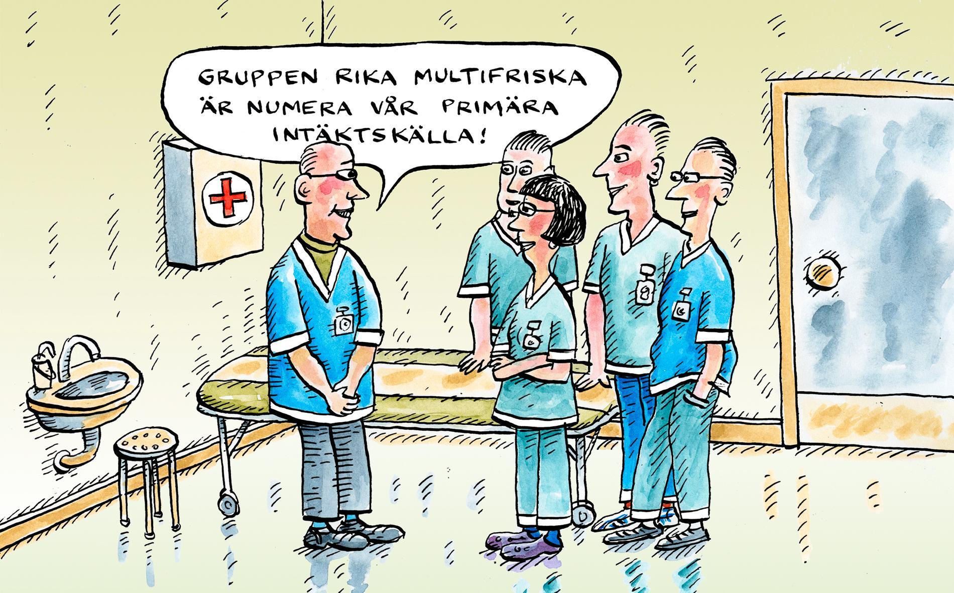 Det går inte att öka kvaliteten i vård, skola och omsorg utan att stoppa vinstjakten.