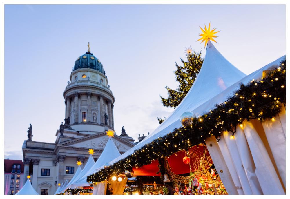 I Berlin finns mängder med julmarknader.