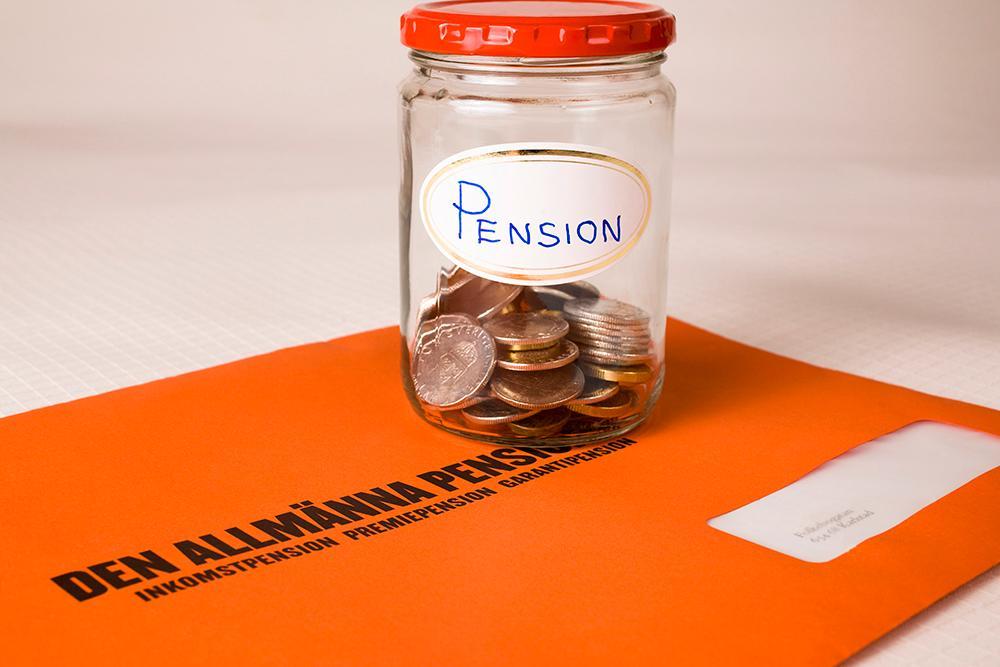 Utan privat pensionssparande kan pensionen bli låg i framtiden.