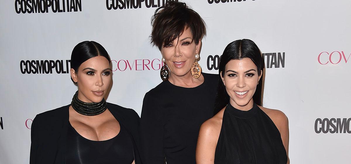 Kim Kardashian, Kris Jenner och Kourtney Kardashian.
