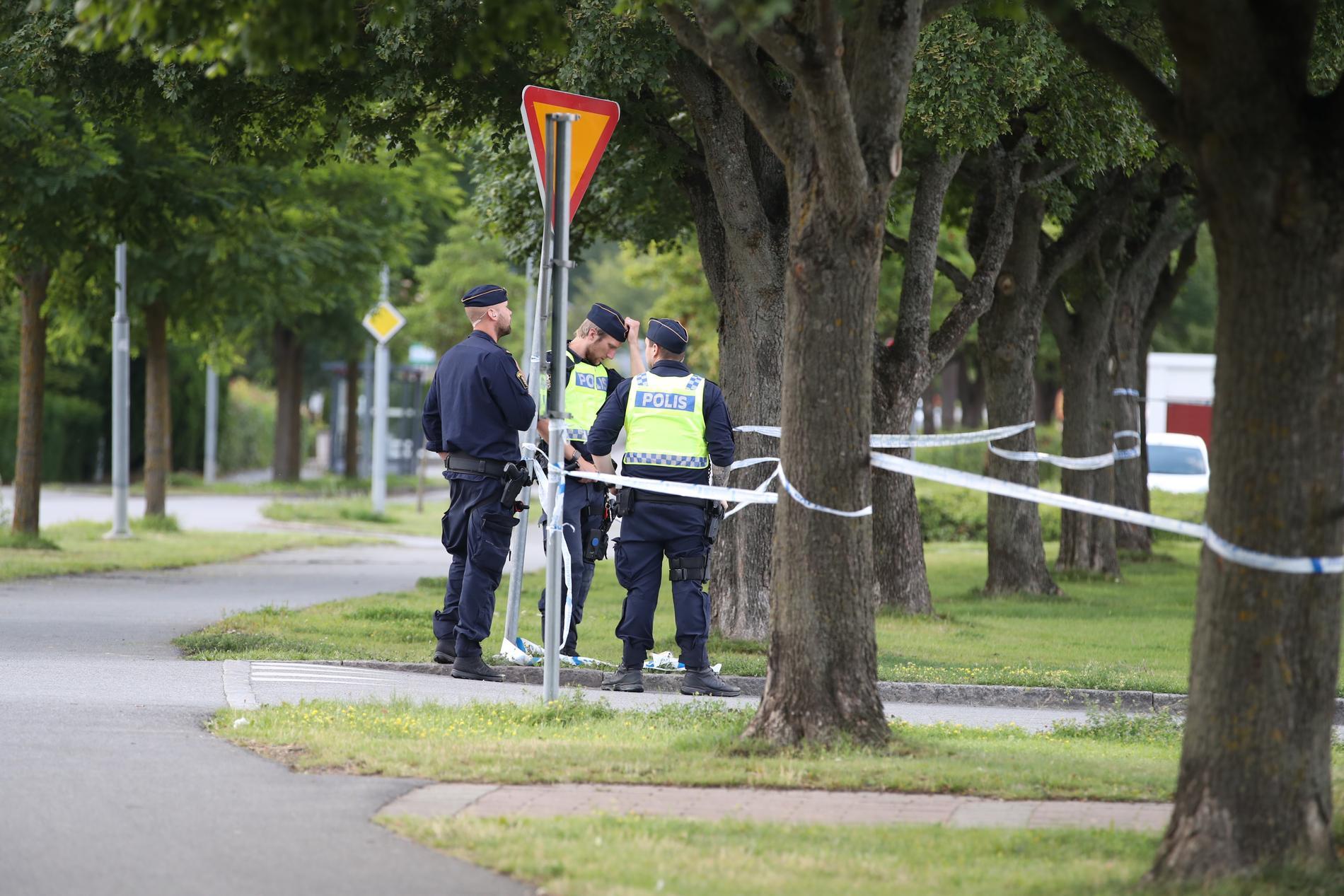 Den här våldseskaleringen de senaste dygnen ska vi bryta, säger polisens Ewa-Gun Westford.