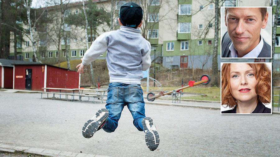 I en Sifo-undersökning på uppdrag av Bris uppger var tredje barn och ung att de vill röra på sig mer än de gör i dag. Samhället behöver prioritera barns behov av rörelse, skriver Magnus Jägerskog och Emma Bennwik.