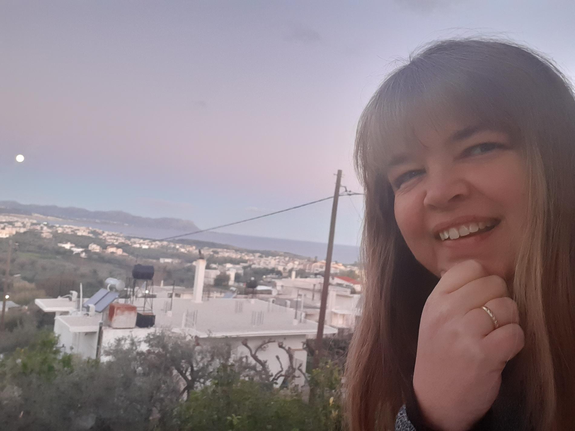 Det var när hon jobbade som reseledare som Kristina förälskade sig i Kreta.