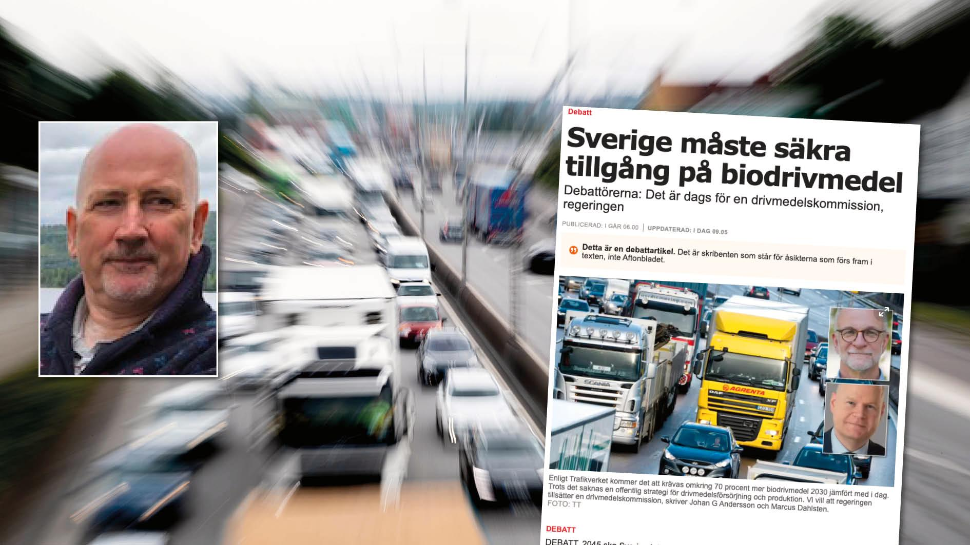 Att klimatkrisen kräver en minskad konsumtion och minskade transporter är grundläggande – men det faktumet har gått skribenterna förbi. Replik från Kjell Prytz, lektor i fysik.