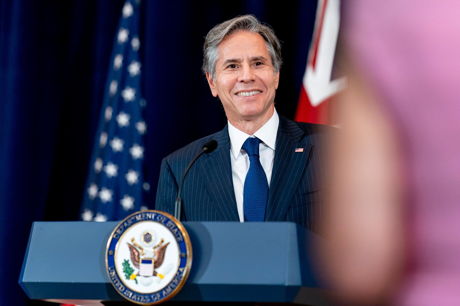 USA:s utrikesminister Antony Blinken.